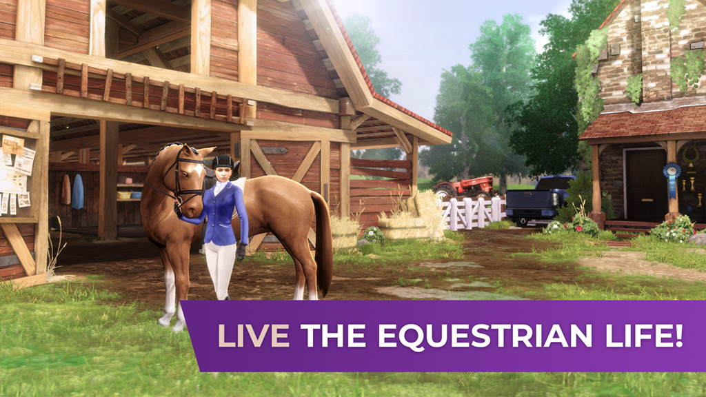 live the equestrian life